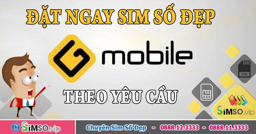 Đặt mua sim phong thủy Gmobile Uy tín & Giá rẻ tại Simso.vip