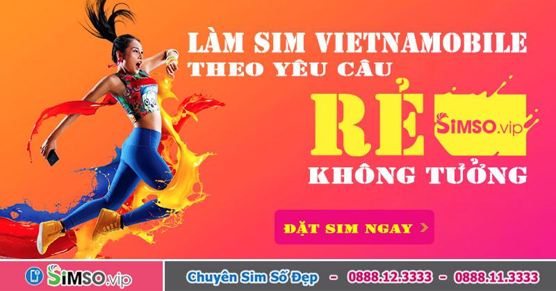 Khuyến mại sim 4G khi đặt mua sim số đẹp Vietnamobile tại Simso.vip