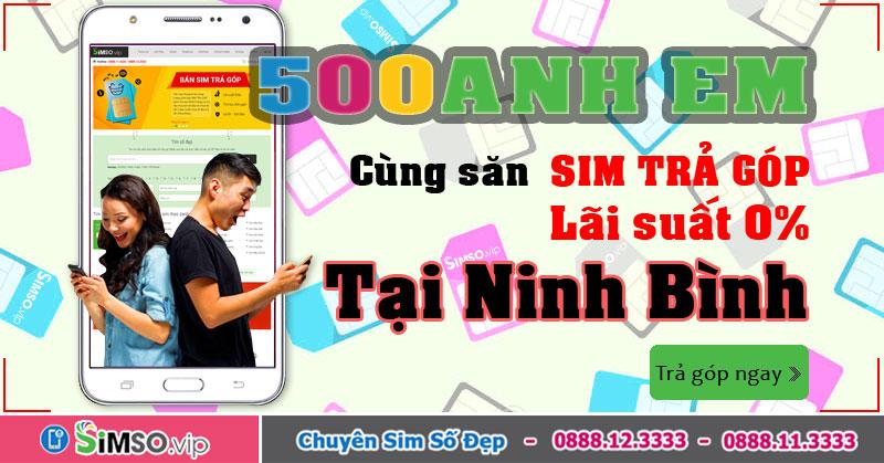 Simso.vip: Địa chỉ vàng bán sim đẹp TRẢ GÓP tại Ninh Bình